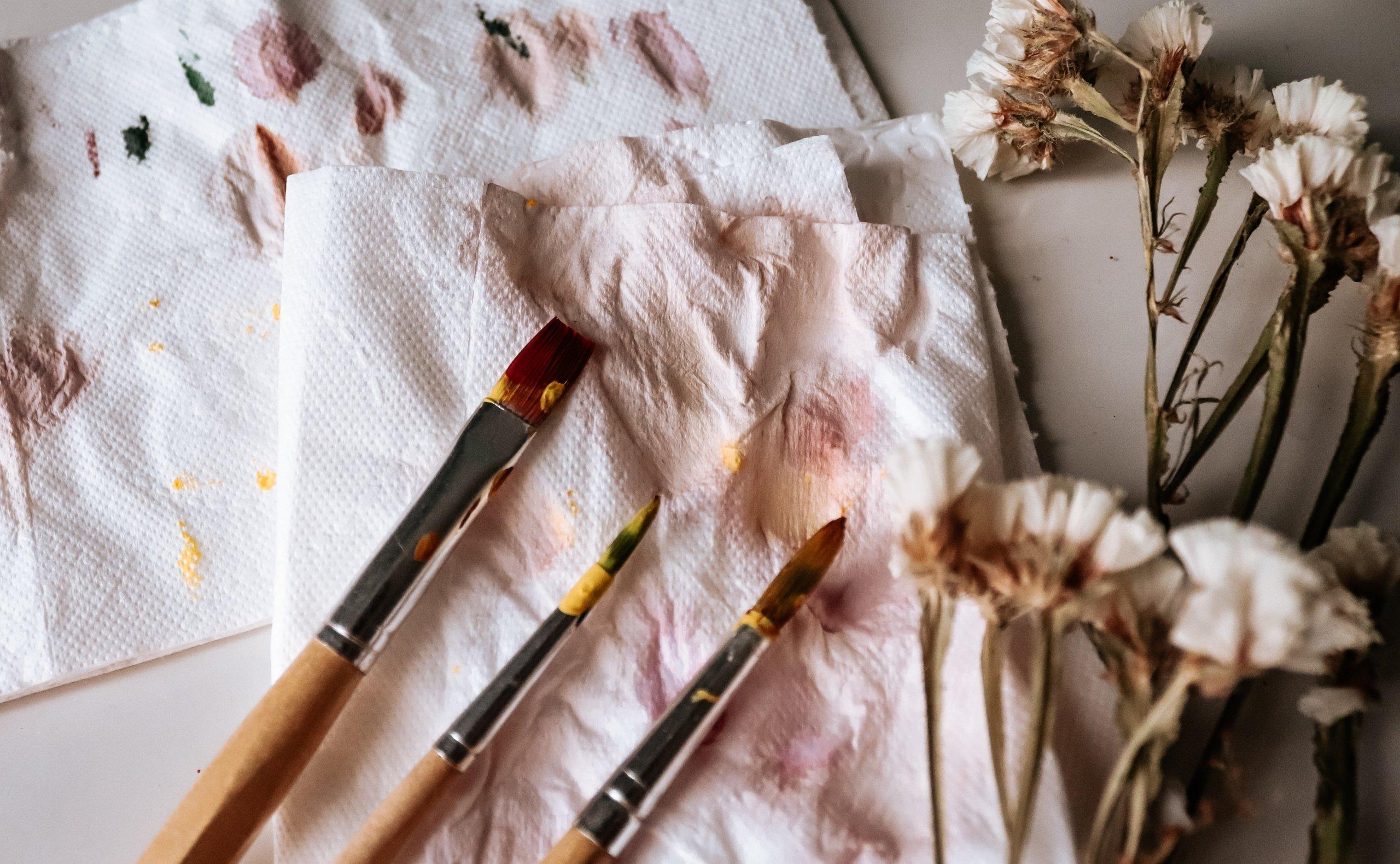 Organic Art: Feine Pinsel – feine Farben