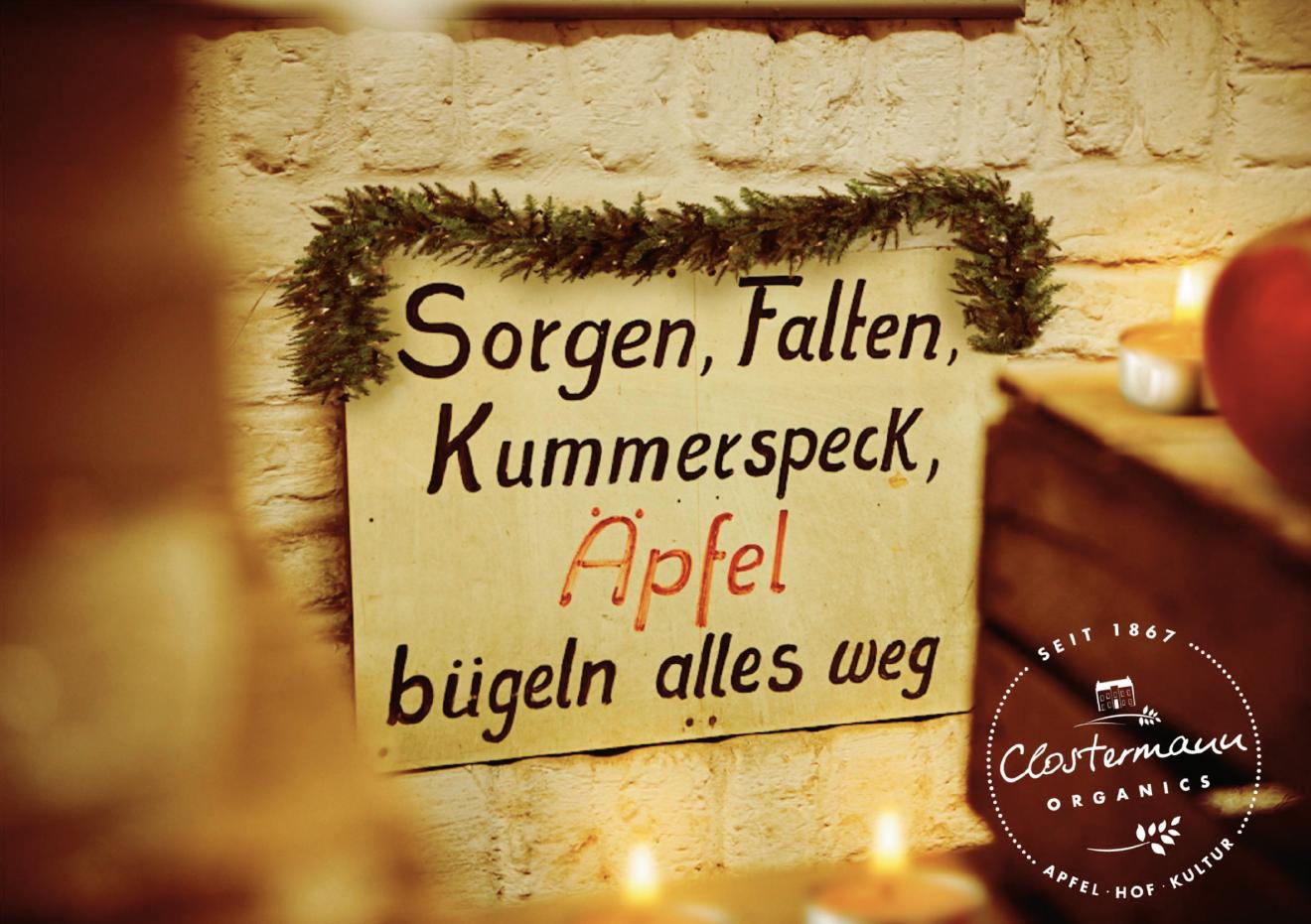 Sorgen, Falten,Kummerspeck...