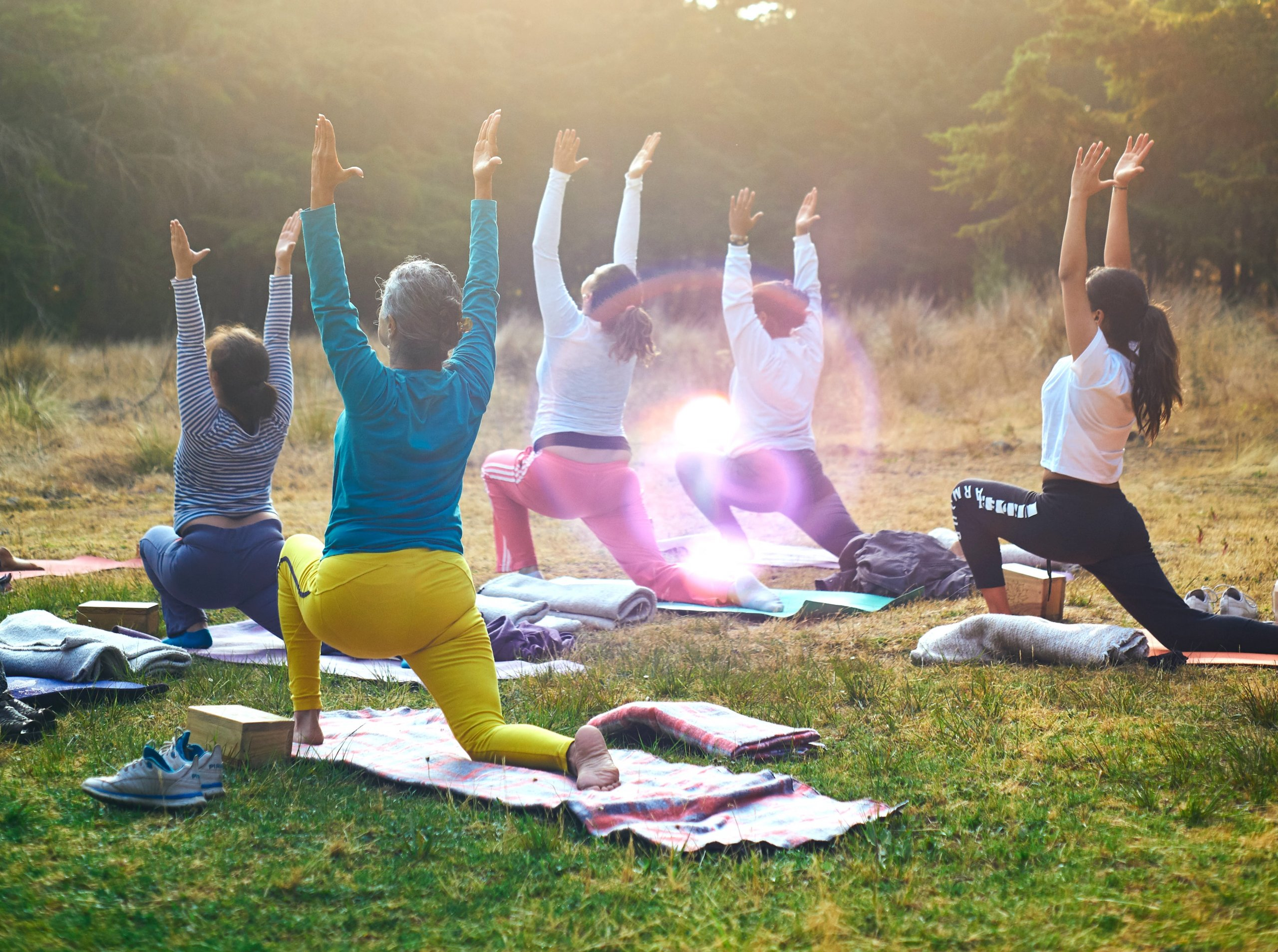 Outdoor-Yoga - Sommerakademie 2021